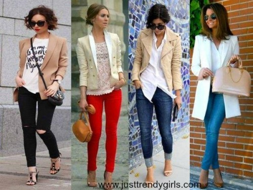 blazers styling ideas,
