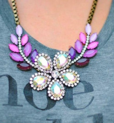 bloom colorful necklace