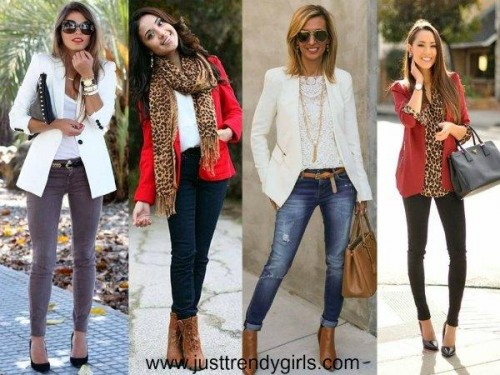 Casual blazers styling ideas u2013 Just Trendy Girls