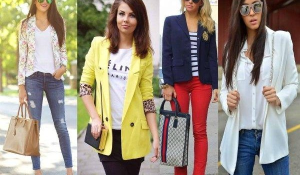 Casual blazers styling ideas