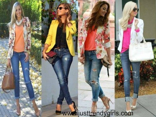 floral blazer styling ideas,