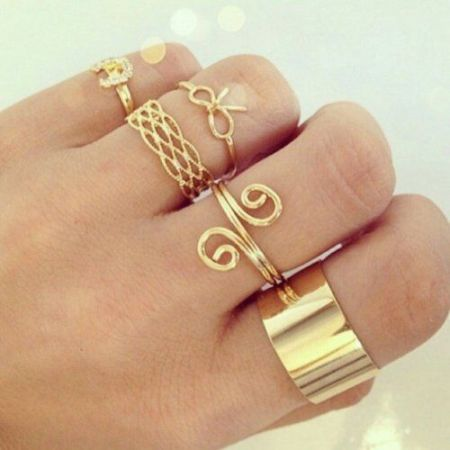 Personalized Stacking Rings Just Trendy Girls