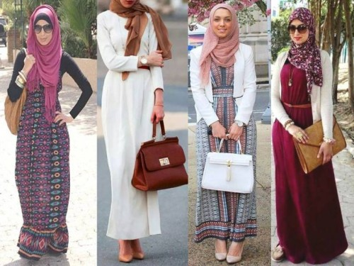 maxi dresses hijab fashion styles