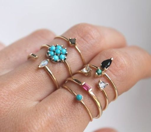 rings ring in online product shopping flowery girly pakistan