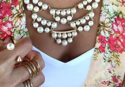 Unique and special statement necklaces