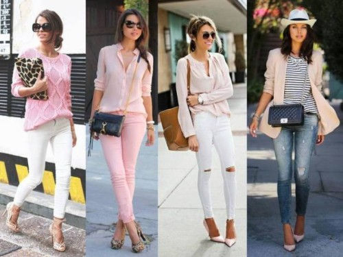 pink outfits street style looks