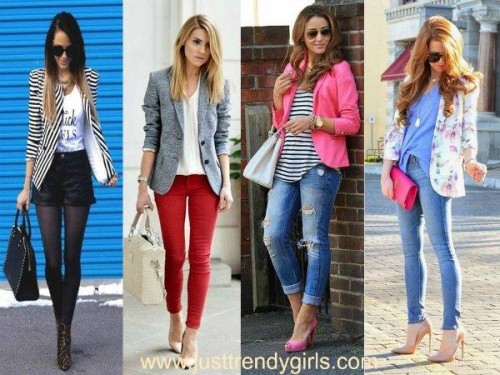 striped blazer ideas,