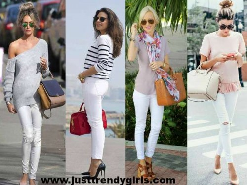 summer white pants