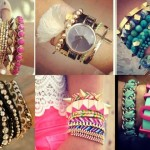 Stylish watches with bracelets