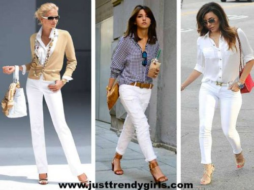 white denim styles