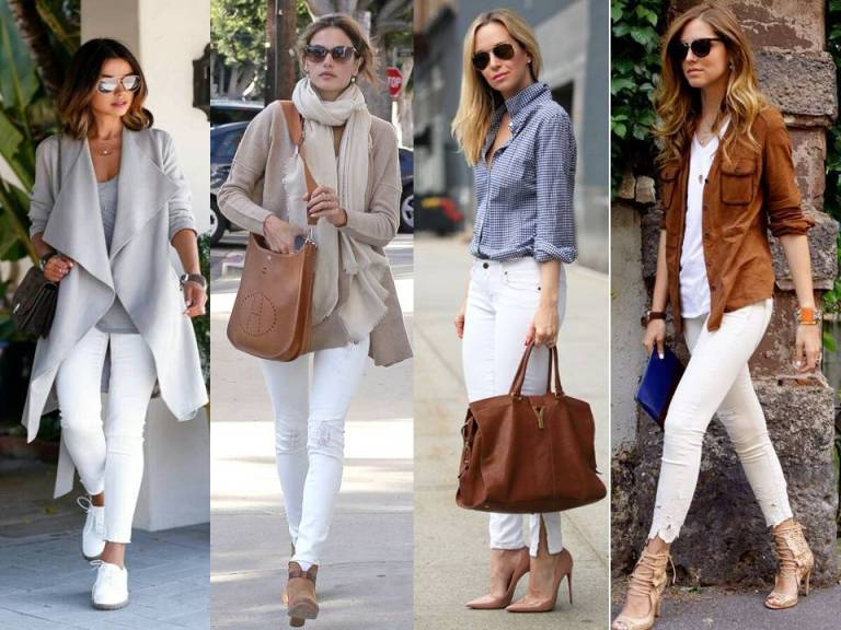 outfits with white pants - Pi Pants