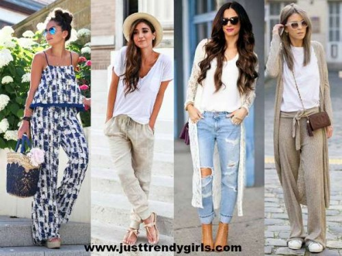 wide pants styling ideas