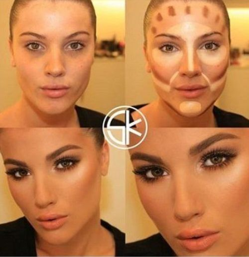 Before and after contouring tutorials – Just Trendy Girls