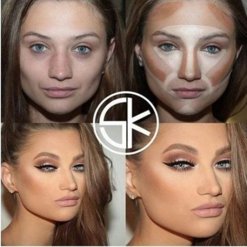 different styles of contouring