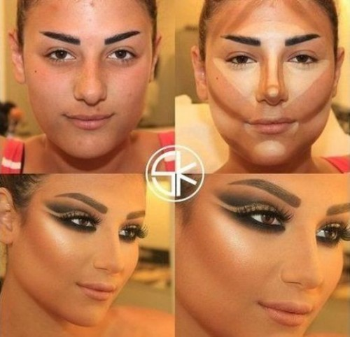 what is Contour Face Makeup