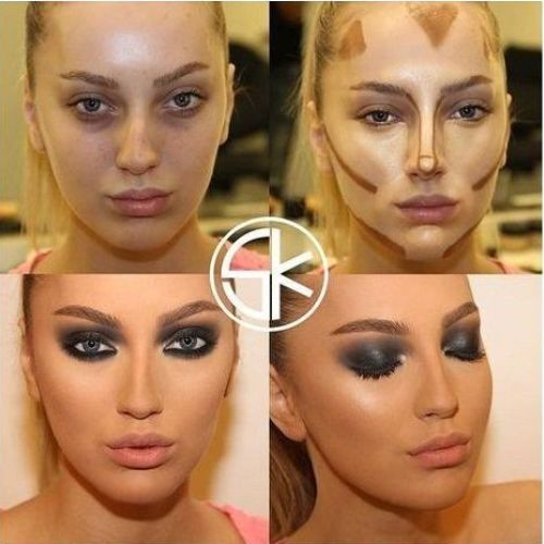Contour Face Makeup tutorials