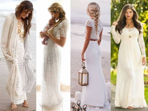 lace beach dresses