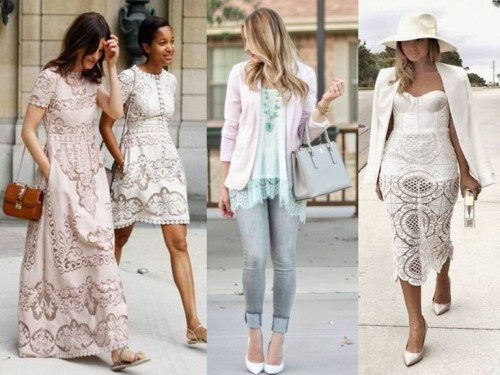 lace outfits ideas