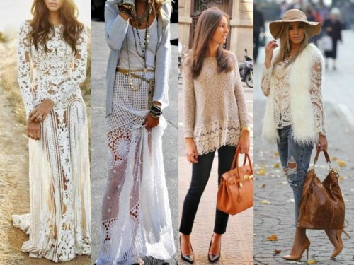 lace styling ideas