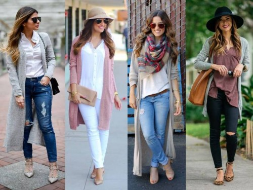 long cardigans trend
