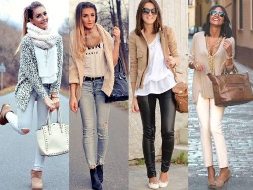 neutral tones street looks