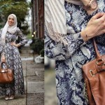 Stylish hijab looks by Hani Hulu