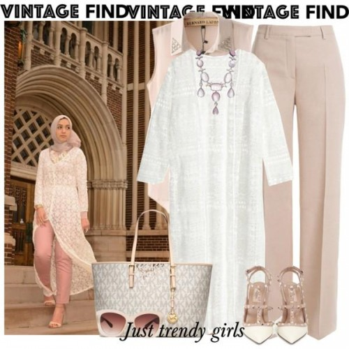 white lace cardigan outfit