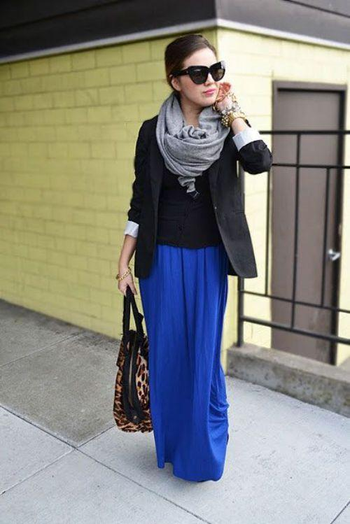 How To Style A Home Fit For A Family: How To Style Your Maxi Skirt In Winter
