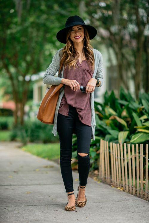 earthy tones fall outfit