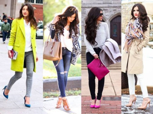 fall casual street looks