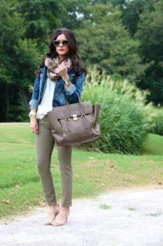 fall street style outfit