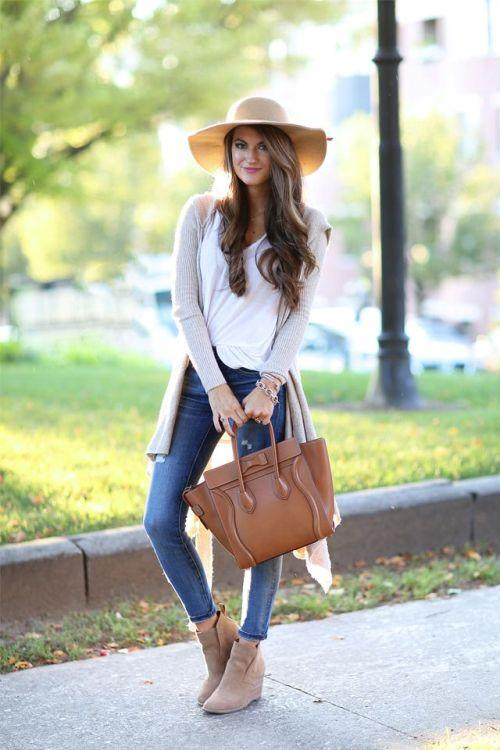 fall tall cardigan outfit