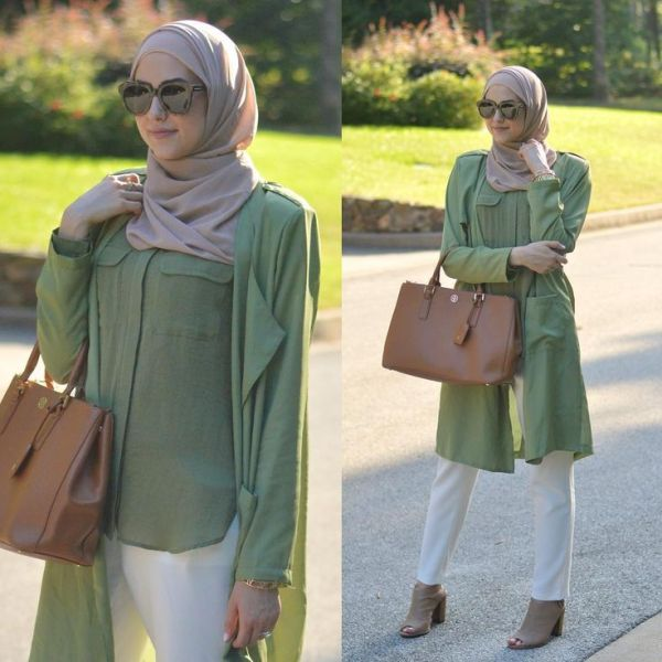 Winter Hijab Street Styles By Leena Asaad Just Trendy Girls
