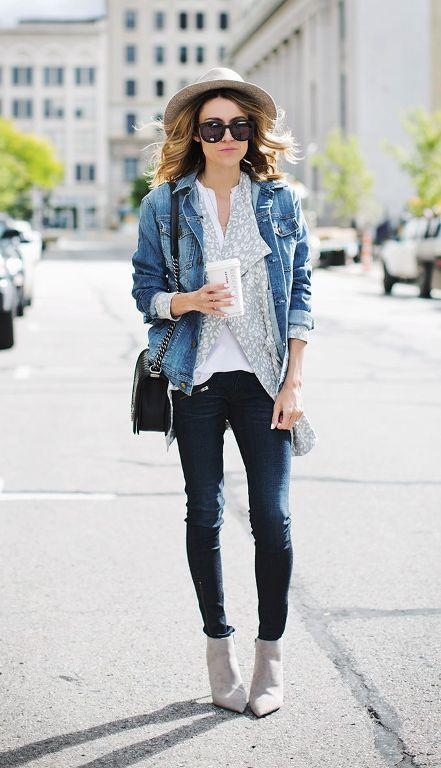 layer fall outfit idea