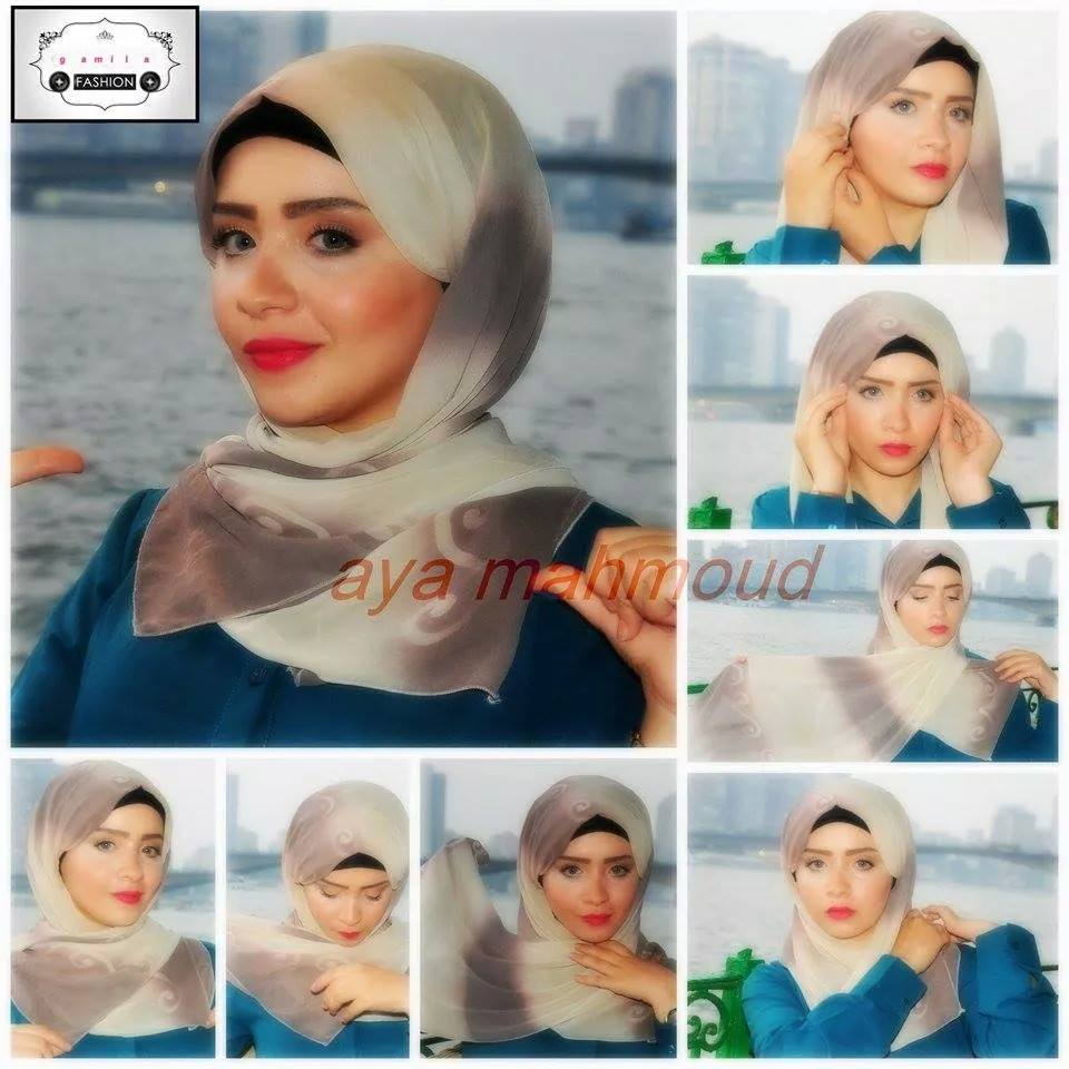 Tutorial Hijab Pesta Simple Just Trendy Girls
