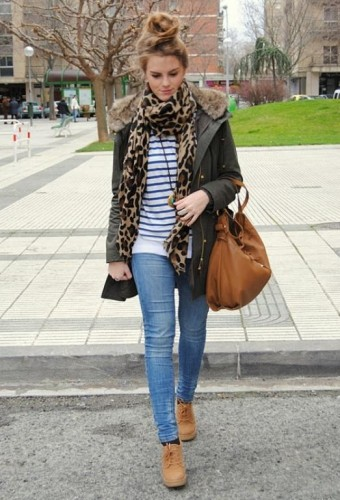 stylish fall street look