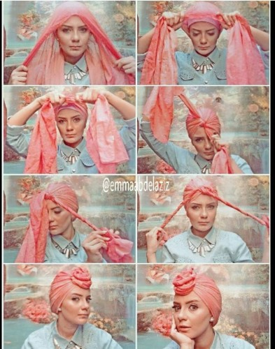 Tutorial hijab pesta simple – Just Trendy Girls