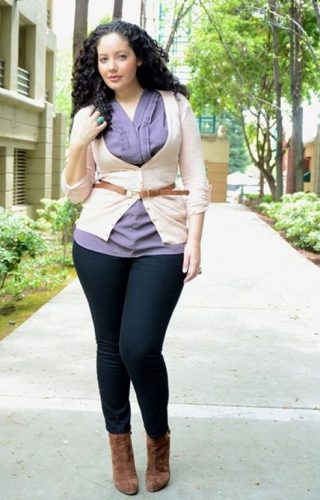 casual chic plus size