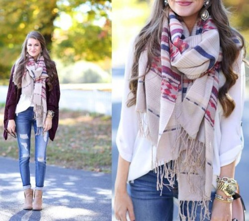 how to wear scarf like a pro