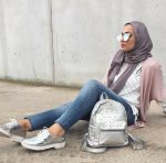 Casual fall outfits for hijabi women