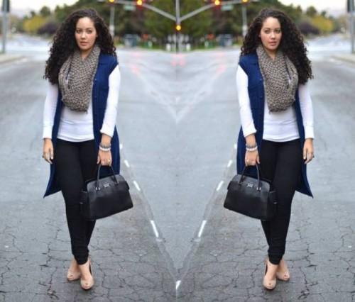 chic outfits for plus size women