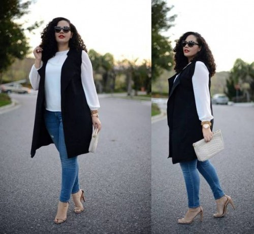 Plus size street style looks | | Just Trendy Girls