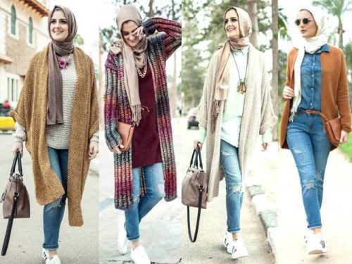 stylish hijab outfits