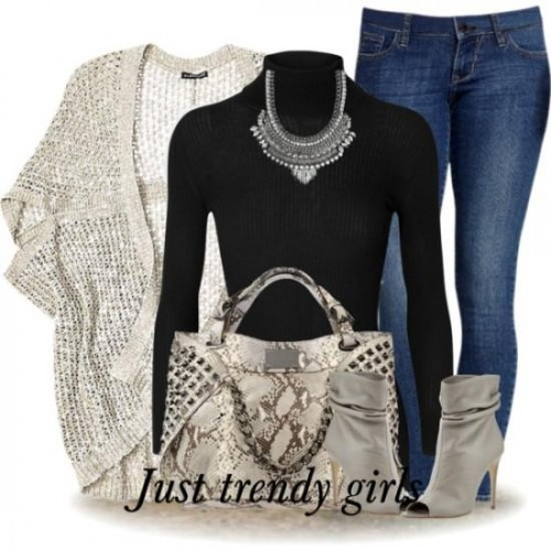 half sleeves cardigan outfit,