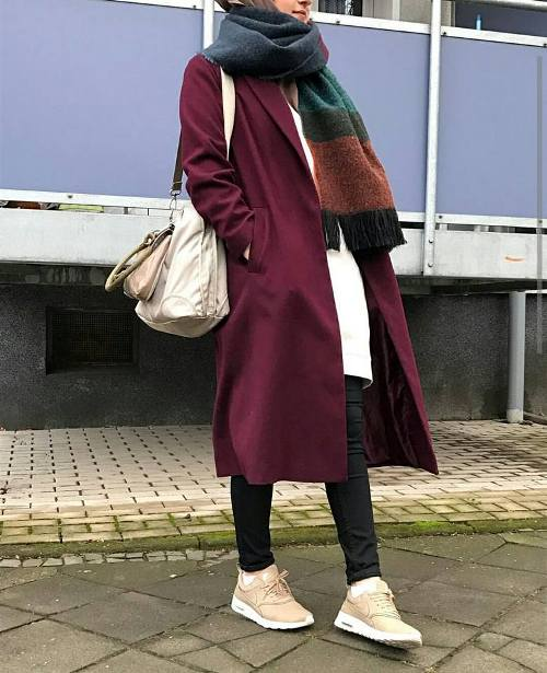 Modest Hijab Outfits For Winter Just Trendy Girls