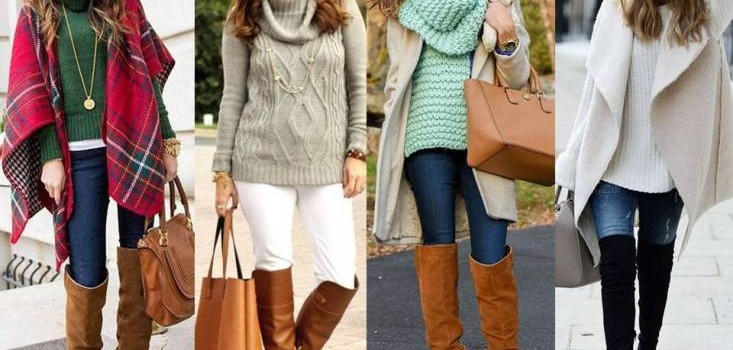 Cozy and chic street style looks