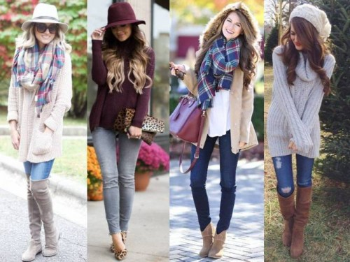 cozy winter street styles