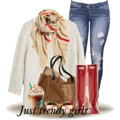 creamy sweater scarf outfit,