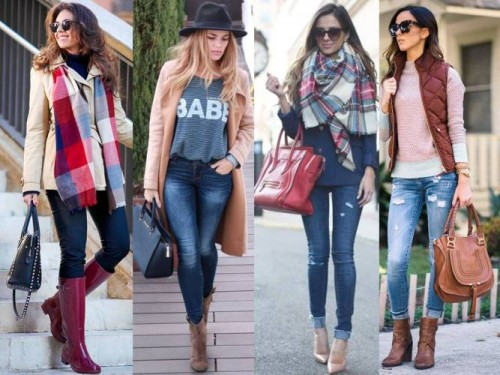 cute and cozy street styles