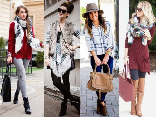fall chic street styles